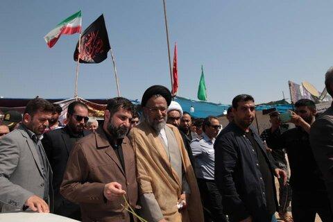 بازدید وزیر اطلاعات از مرز چذابه