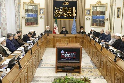 سید ابراهیم رئیسی، در جلسه شورای عالی قوه قضائیه