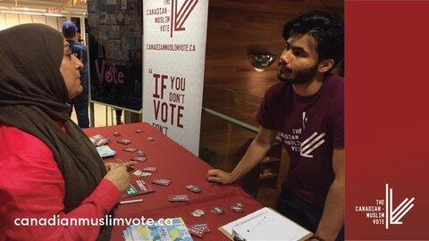 کمپین «آخر هفته رای دادن مسلمانان» با شعار صدای بلند در کانادا