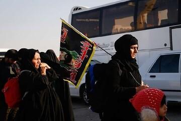 آغاز بازگشت زوار اربعین به استان کردستان
