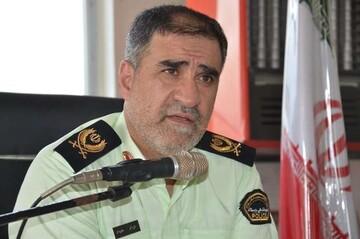 توضیحات فرمانده انتظامی کرمانشاه درباره حمله اغتشاشگران به کلانتری الهیه