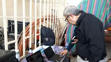 رئیس ستاد عتبات کشور از محل استقرار خبرگزاری حوزه در منذریه عراق بازدید کرد