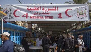 كوادر طبية تغلق عياداتها وتؤجل التزاماتها لخدمة الزائرين عند مرقد الامام الحسين (ع)