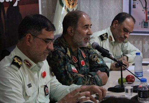 سردار حسن کرمی فرمانده یگان های ویژه ناجا