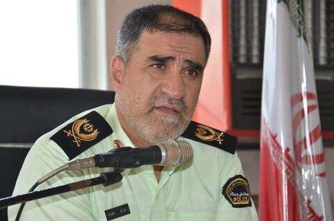 سردار علی اکبر جاویدان فرمانده انتظامی کرمانشاه
