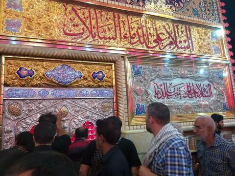 تصاویر/ حال و هوای حرم امام حسین(ع) در ایام اربعین