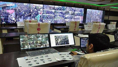 نشر (900) كاميرا بمواصفات مميزة عند مرقد الإمام الحسين (ع)