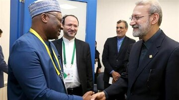 Larijani urges IPU states to pay attention to Palestine issue