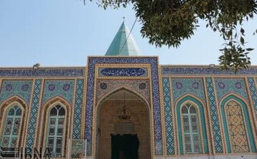 بازدید رئیس اوقاف ناحیه یک از آستان امامزادگان طیب و طاهر(ع)