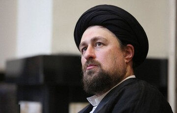 السيد حسن الخميني يبرق لآية الله السيستاني