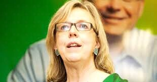 Elizabeth May is standing behind four green party candidates who promoted racist, Anti-Muslim views