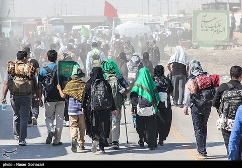 Millions of visitors flock into Karbala holy city to mark Arbaeen anniversary