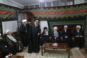 تصاویر/ اولین شب مراسم عزاداری اباعبدالله الحسین(ع) در بیت آیت الله مقتدایی