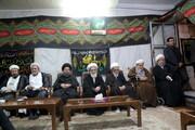 تصاویر/ دومین شب مراسم عزاداری اباعبدالله الحسین(ع) در بیت آیت الله مقتدایی