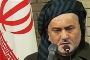 پیکر امام جمعه موقت سنندج تشییع و خاکسپاری شد