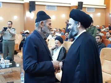 تجلیل حاج علی اکبری از امام جمعه سابق آران و بیدگل