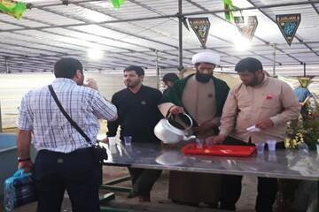 خدمت رسانی ۱۴ روزه موکب اوقاف لرستان به زائران / توزیع بیش از ۱۰۰ هزار پرس غذا