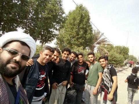 تصاویر/ حال و هوای زائران امام حسین(ع) در مسیر عشق