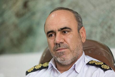 سرهنگ رضا جمشیدی ، رئیس پلیس راهور خوزستان