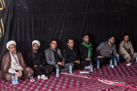 تصاویر/ بازدید مدیر حوزه علمیه خوزستان از مرز چذابه