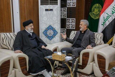 حجت الاسلام رئیسی و تولیت آستان علوی