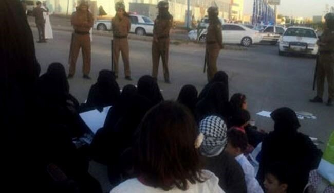 رژیم آل سعود تعدادی از زنان قطیف را بازداشت کرد