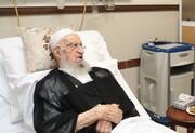 آیت الله العظمی مکارم شیرازی از بیمارستان مرخص شدند