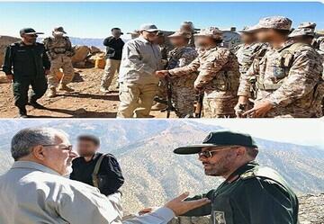 فرمانده نیروی زمینی سپاه از مقرهای عملیاتی سپاه کردستان بازدید کرد