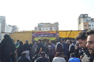 تصاویر/ حال هوای نجف اشرف در ایام اربعین
