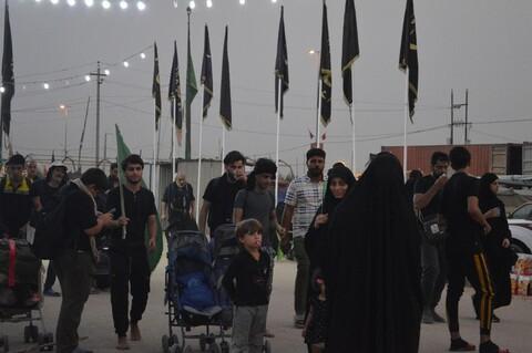تصاویر/ راهپیمایی زائران اربعین حسینی در مسیر عشق