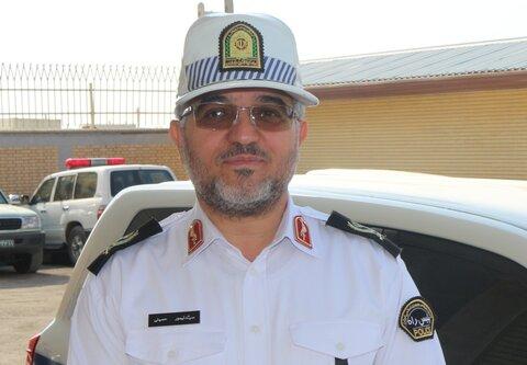 سردار سید تیمور حسینی رئیس پلیس راه کشور:
