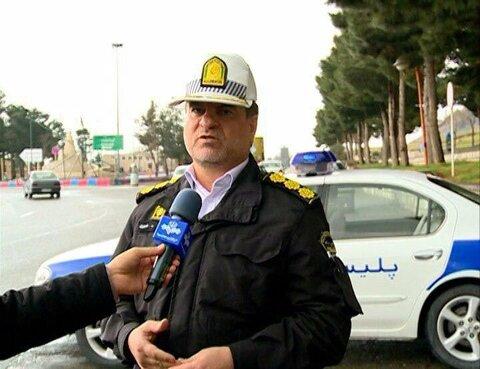 سرهنگ فضل الله شیری رئیس پلیس راهنمایی و رانندگی استان