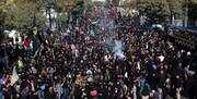 پایتخت ایران اسلامی حال و هوای اربعینی گرفت