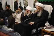 تصاویر/ مراسم عزاداری اربعین حسینی در بیوت مراجع و علما