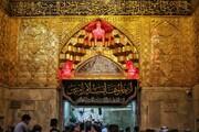 تصاویری از حرم اباعبدالله الحسین(ع) در ایام اربعین