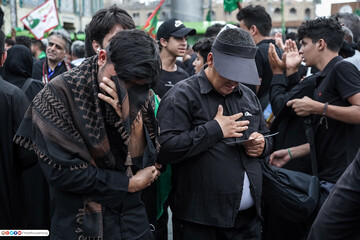 تصاویر/حال و هوای زائران هنگام رسیدن به کربلای امام حسین(ع)