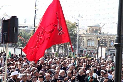 همایش عظیم تجمع جاماندگان اربعین حسینی در همدان