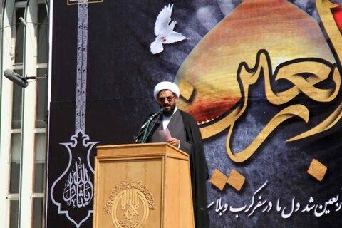 امام جمعه همدان در همایش عظیم تجمع جاماندگان اربعین حسینی در همدان