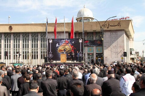 تصاویر/ تجمع مردم همدان در اربعین حسینی