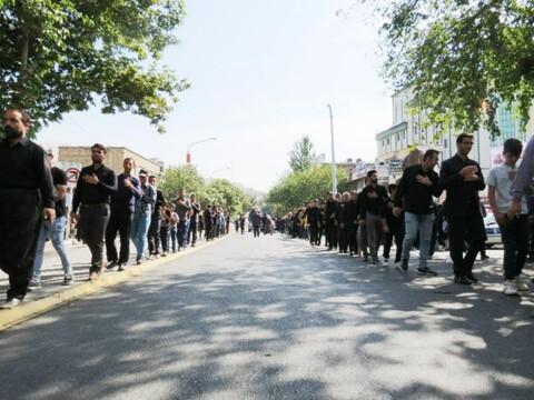 تصاویر/ راهپیمایی جاماندگان اربعین در کردستان