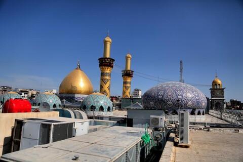 تصاویری از حرم حضرت عباس(ع) در ایام اربعین