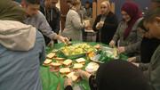 هزاران وعده غذایی توسط داوطلبان مسلمان کلیولند آمریکا به نیازمندان داده شد