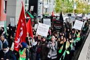 پیاده روی اربعین با شعار «صلح علیه بی عدالتی» در کیچنر کانادا برگزار شد