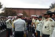 پیکر رئیس عقیدتی سیاسی پلیس راهور ناجا در تهران تشییع شد