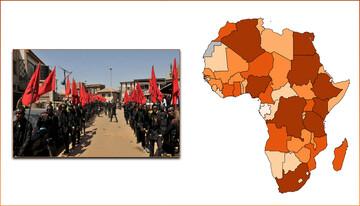 الشعائر الحسينية في أفريقيا