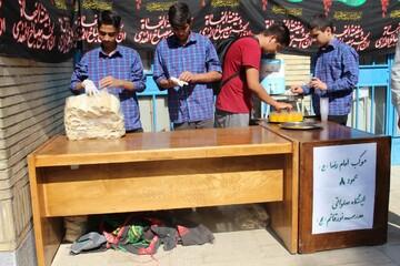 موکب دانش آموزی امام رضا(ع) برگزار شد+ عکس