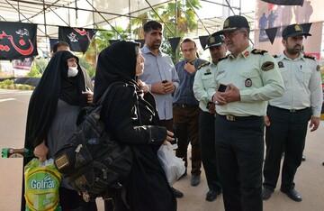 پلیس تا پایان ماموریت اربعین در کنار زائران است