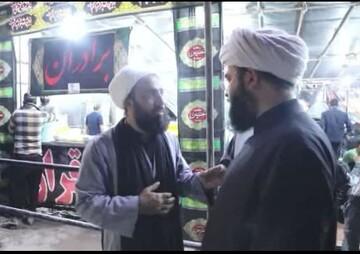 فیلم/ بازدید رئیس سازمان تبلیغات از فعالیتهای طلبههای خادم در پایانه مرزی مهران