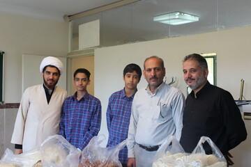 تصاویر/ موکب دانش آموزی در مدرسه نور قائم(عج) تهران