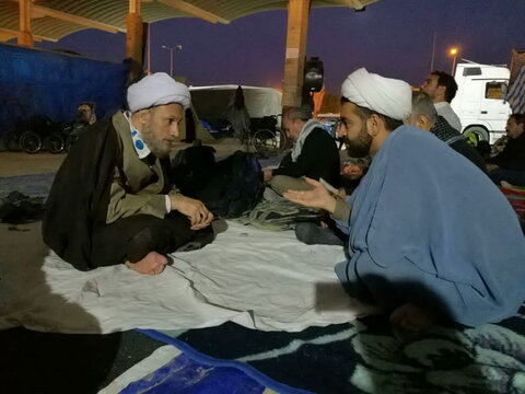 حضور ائمه جمعه شیراز و اهواز در راهپیمایی اربعین
